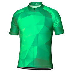 High Viz Polygon Short Sleeve Cycling Jersey By OCG Originals