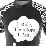 Men's I Ride Therefore I Am Short Sleeve Cycling Jersey
