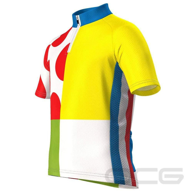 Kid's Tour de France Leaders KOM Sprinters Jersey By OCG Kids