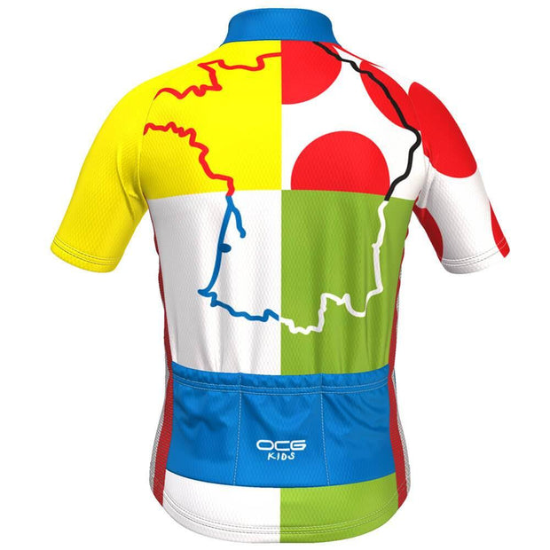 Kid's Tour de France Leaders KOM Sprinters Jersey