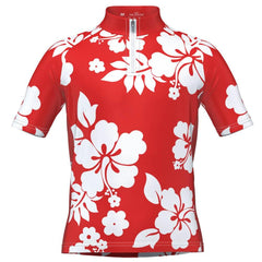 Kid's Hawaiian Shirt Aloha Short Sleeve Cycling Jersey
