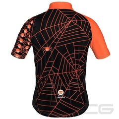 LDL Kids Spider Monster Short Sleeve Cycling Jersey By Little Dog Laughed