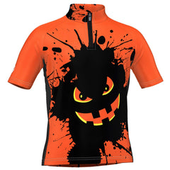 LDL Kids Monster Splat Short Sleeve Cycling Jersey