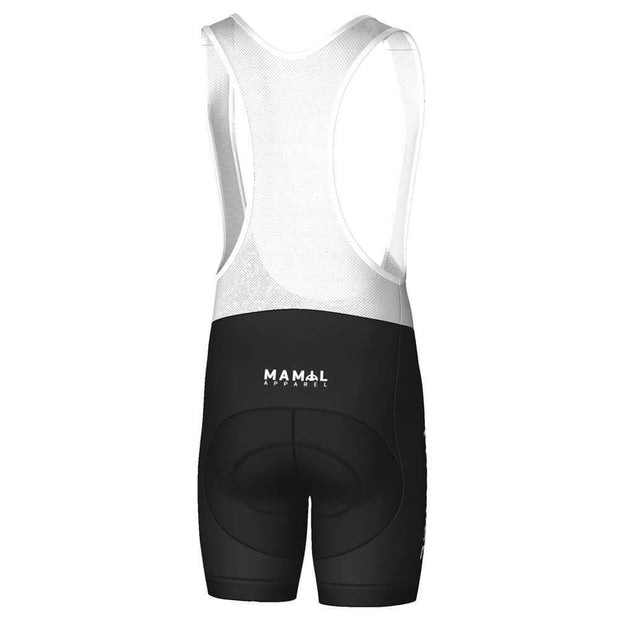MAMIL Apparel Bold Letter Pro-Band Cycling Bib By MAMIL Apparel