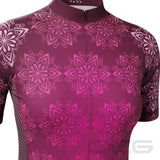 Women's Mandala Short Sleeve Cycling Jersey