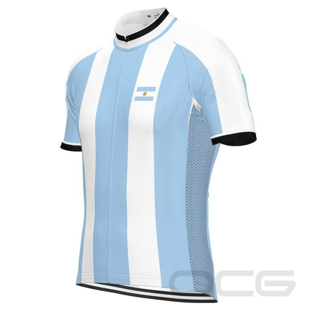 Men's Argentina Flag National Pro-Band Cycling Kit By OCG Originals