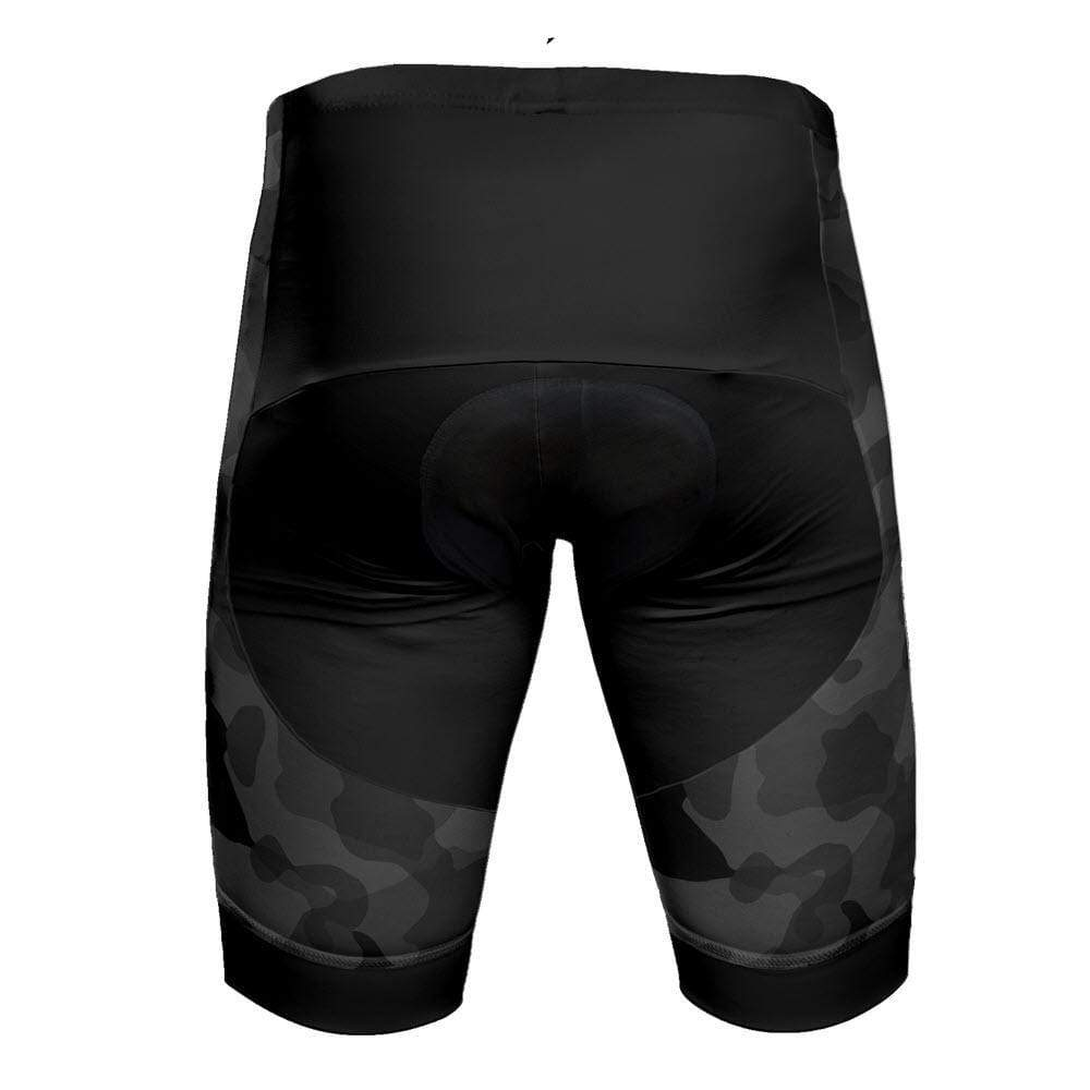Men's Camouflage Pro-Band Cycling Shorts