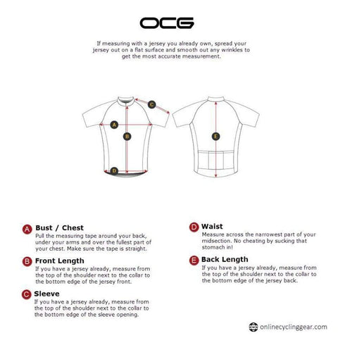 Men's Canada Bold Short Sleeve Cycling Jersey By OCG Originals