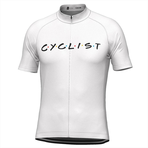 Men's Friends Cyclist Cycling Jersey By OCG Originals