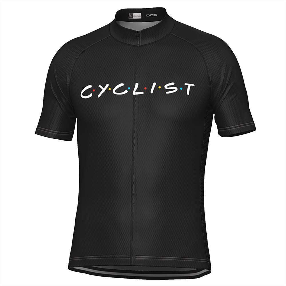 Men's Friends Cyclist Cycling Jersey