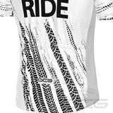 Men's Live Love Ride Short Sleeve Cycling Jersey By OCG Originals