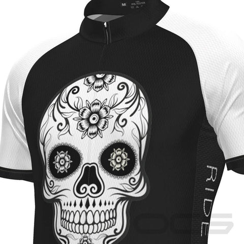 Men's Mexican Mask Short Sleeve Cycling Jersey By OCG Originals