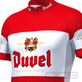 Men's Red Duvel Short Sleeve Cycling Jersey By Online Cycling Gear