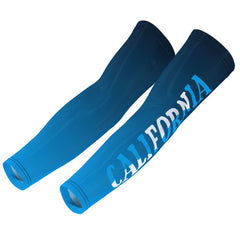 Unisex California Blue Arm Warmers