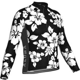 Men's Hawaiian Shirt Aloha Floral Long Sleeve Cycling Jersey