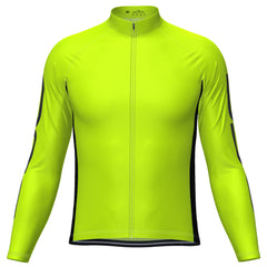Men's OCG High Viz Neon Long Sleeve Cycling Jersey