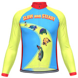 Men's Slow and Steady Long Sleeve Cycling Jersey