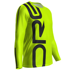 ORG Neon Men's Long Sleeve Performance Running Shirt