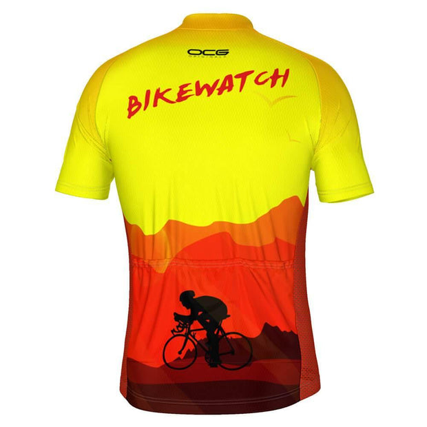 Men's Bikewatch Short Sleeve Cycling Jersey
