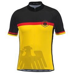 Men's Germany Deutschland National Pro Cycling Jersey