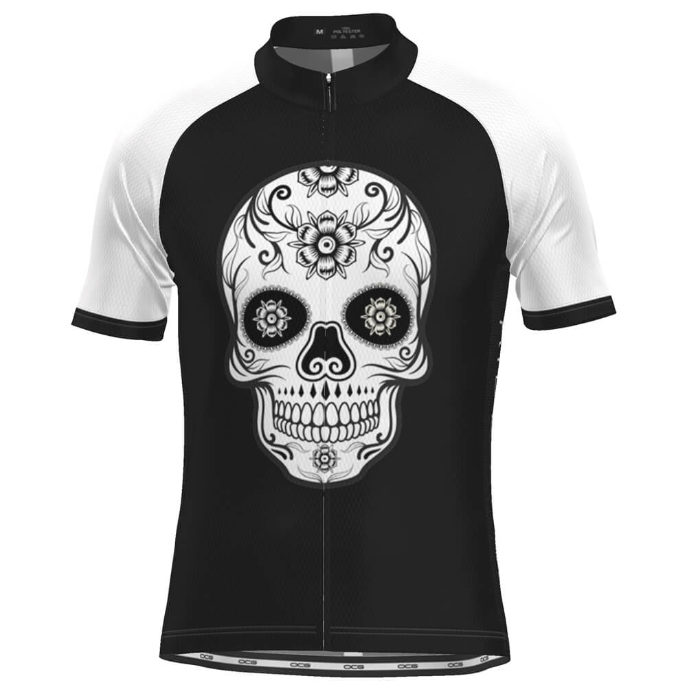 Men's Mexican Mask Short Sleeve Cycling Jersey