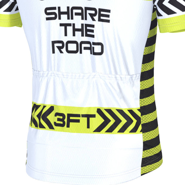 Men's Respect The Cyclist Share the Road Cycling Jersey