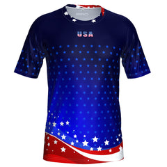 ORG Patriot USA Men's Technical Running Shirt