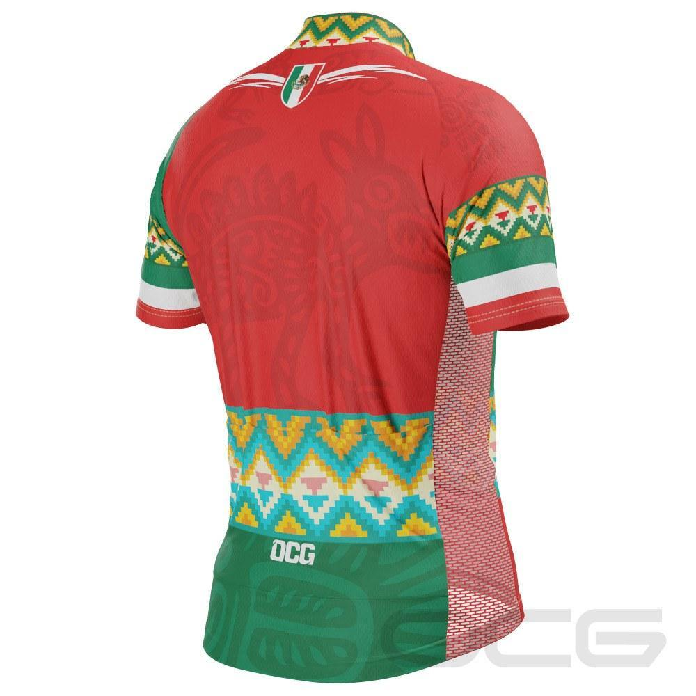 Men's Mexico Paseo 1 Short Sleeve Cycling Jersey - Online Cycling Gear