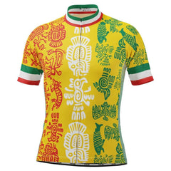 Men's Mexico Orale Short Sleeve Cycling Jersey