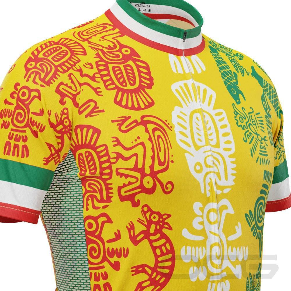 Men's Mexico Orale Short Sleeve Cycling Jersey - Online Cycling Gear