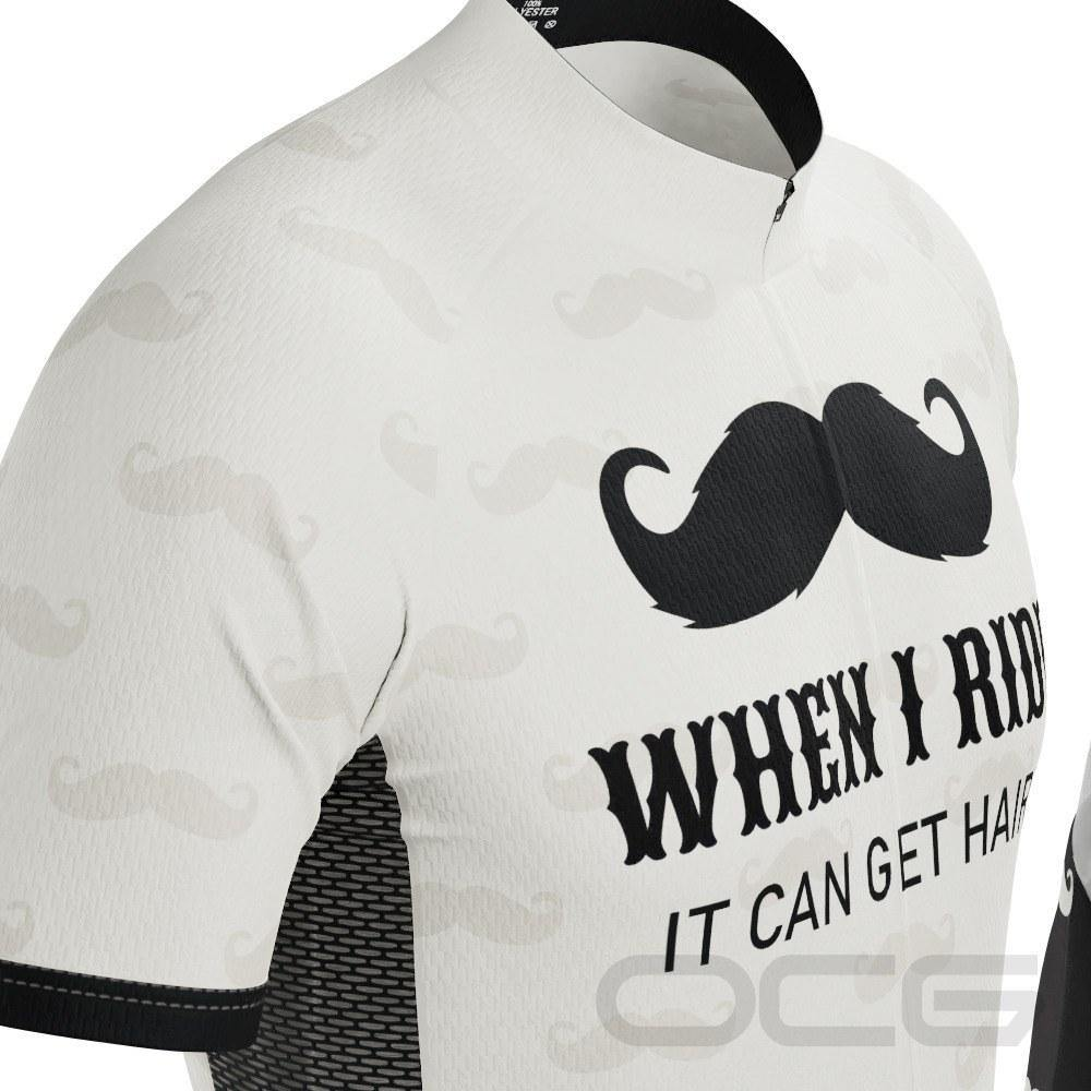 Men's Hairy Mustache Short Sleeve Cycling Kit - Online Cycling Gear
