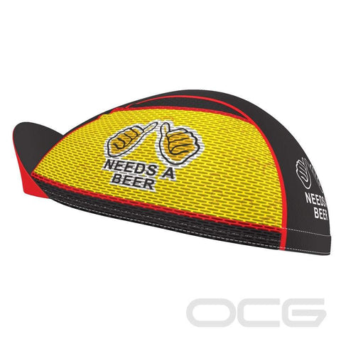 Needs a Beer Quick-Dry Cycling Cap By OCG Originals