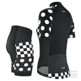 "Women's ""Nina"" Polka Dot Pro-Band Short Sleeve Cycling Kit"
