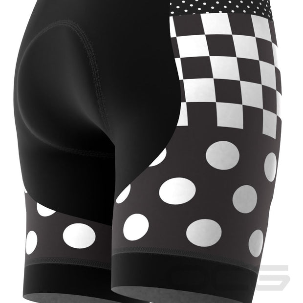 Women's Nina Polka Dot Pro-Band Cycling Shorts