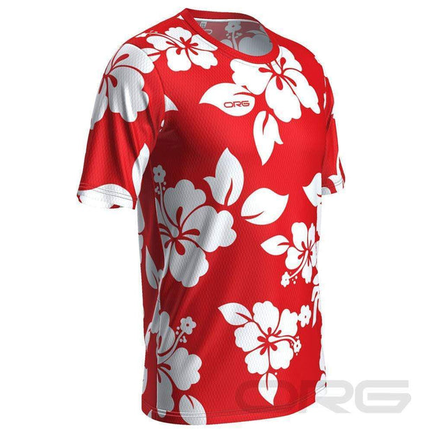 ORG Hawaiian Men's Technical Running Shirt By Online Running Gear