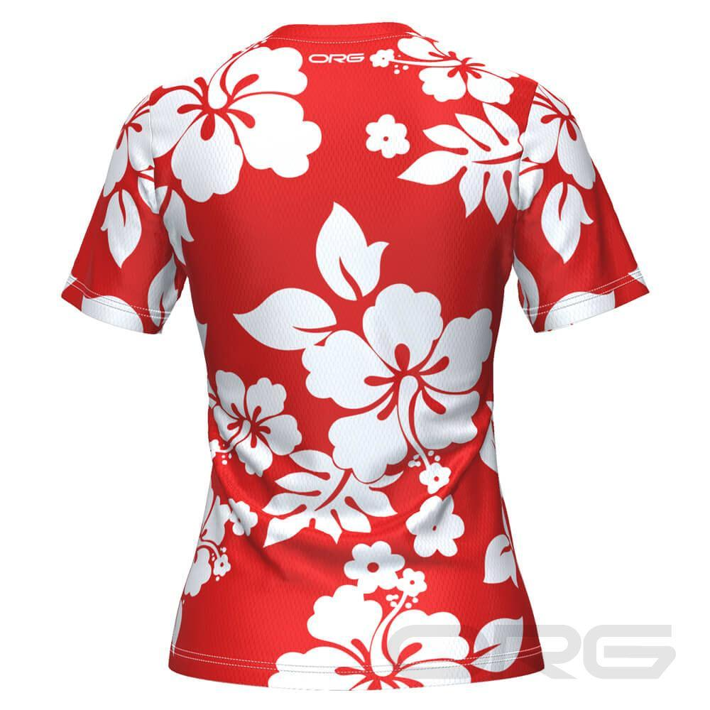 ORG Hawaiian Shirt Women's Technical Running Shirt