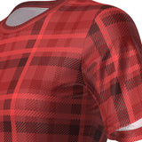 ORG Plaid Tartan Women's Technical Running Shirt By Online Running Gear