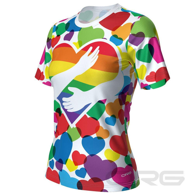 ORG Pride Women's Technical Running Shirt By Online Running Gear