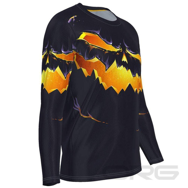 ORG Purple Pumpkin Eater Men's Long Sleeve Running Shirt By Online Running Gear