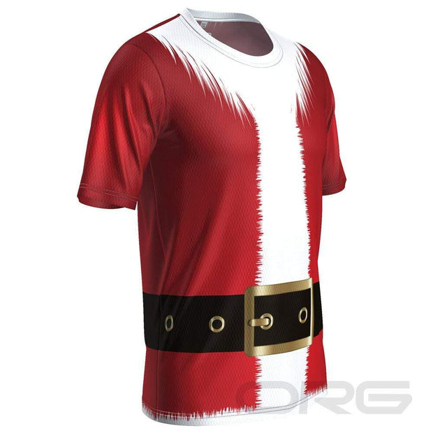 ORG Santa Suit Men's Technical Running Shirt By Online Running Gear
