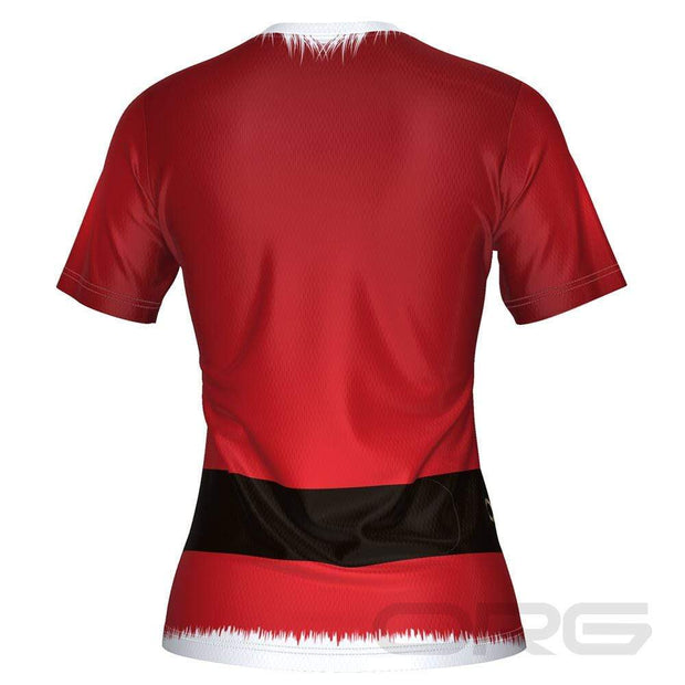 ORG Santa Suit Women's Technical Running Shirt By Online Running Gear