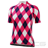 Women's Patchwork Short Sleeve Cycling Jersey