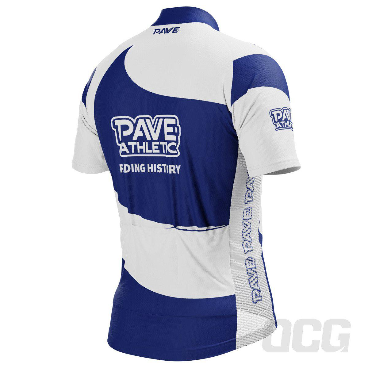 PAVE Athletic Silver Team Short Sleeve Cycling Jersey