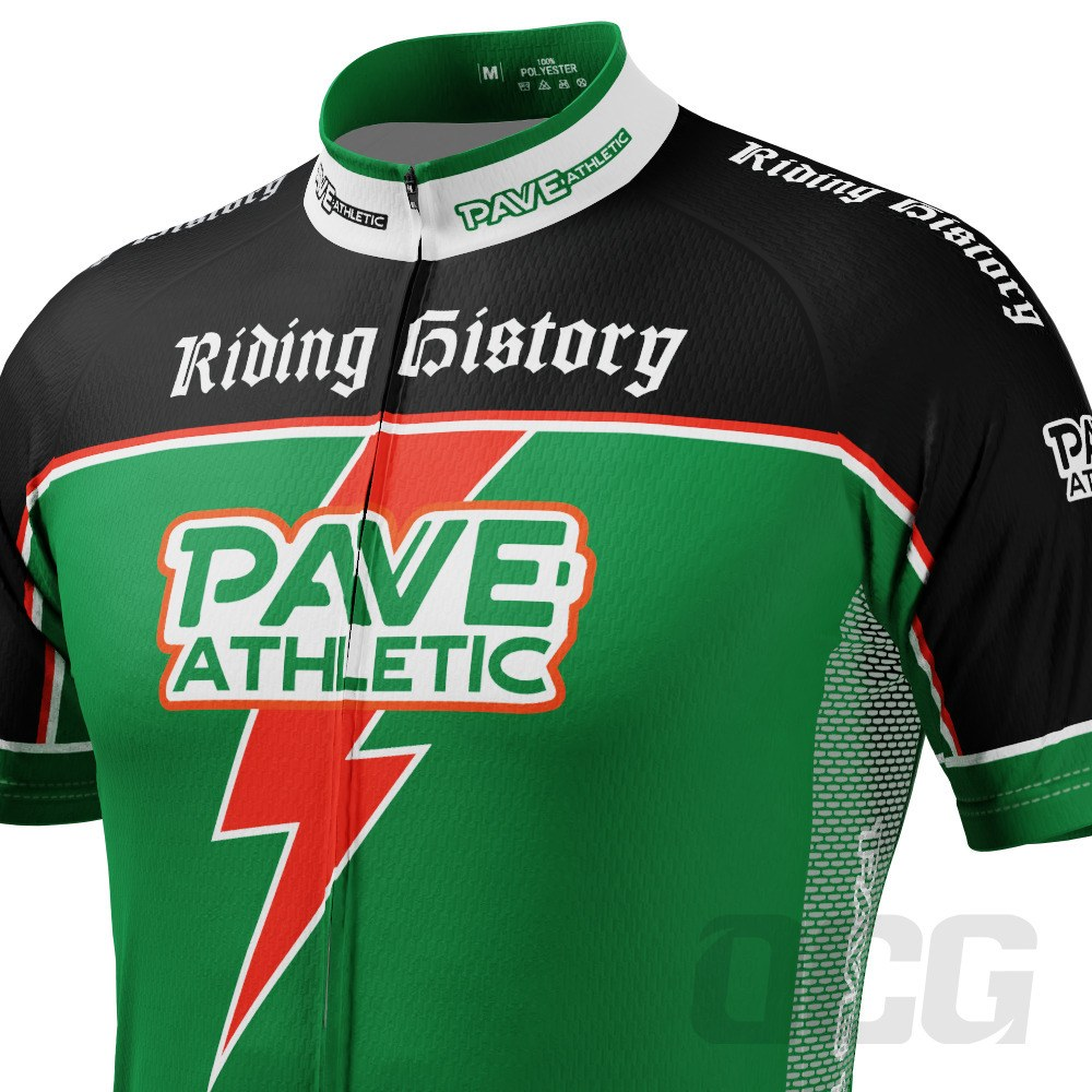 PAVE Athletic Energy Bolt Short Sleeve Cycling Jersey
