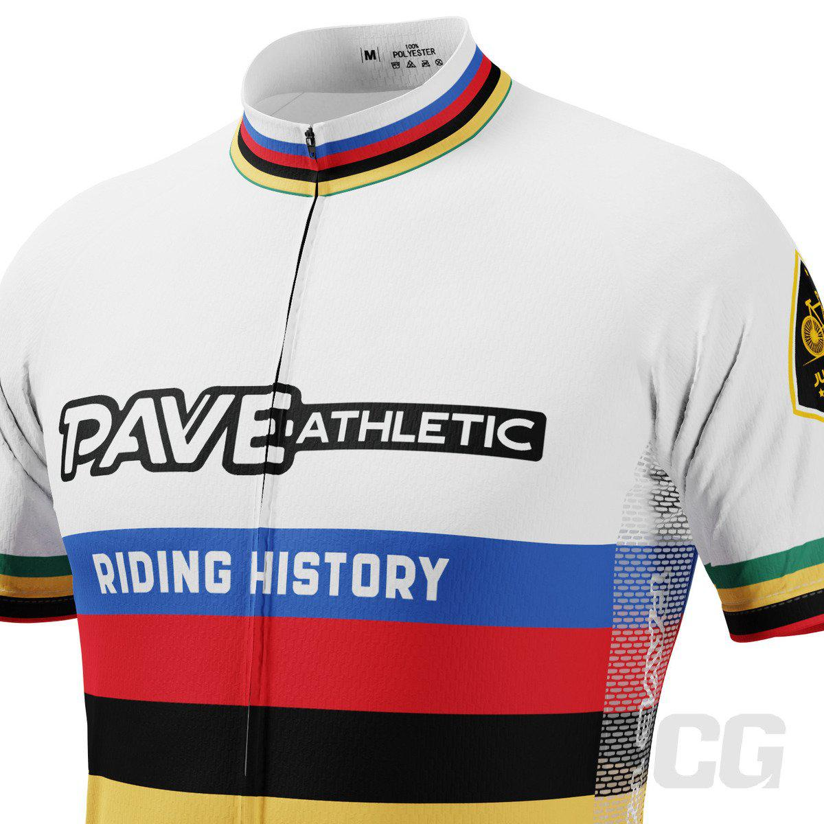 PAVE Athletic Auto World Champ Short Sleeve Cycling Jersey