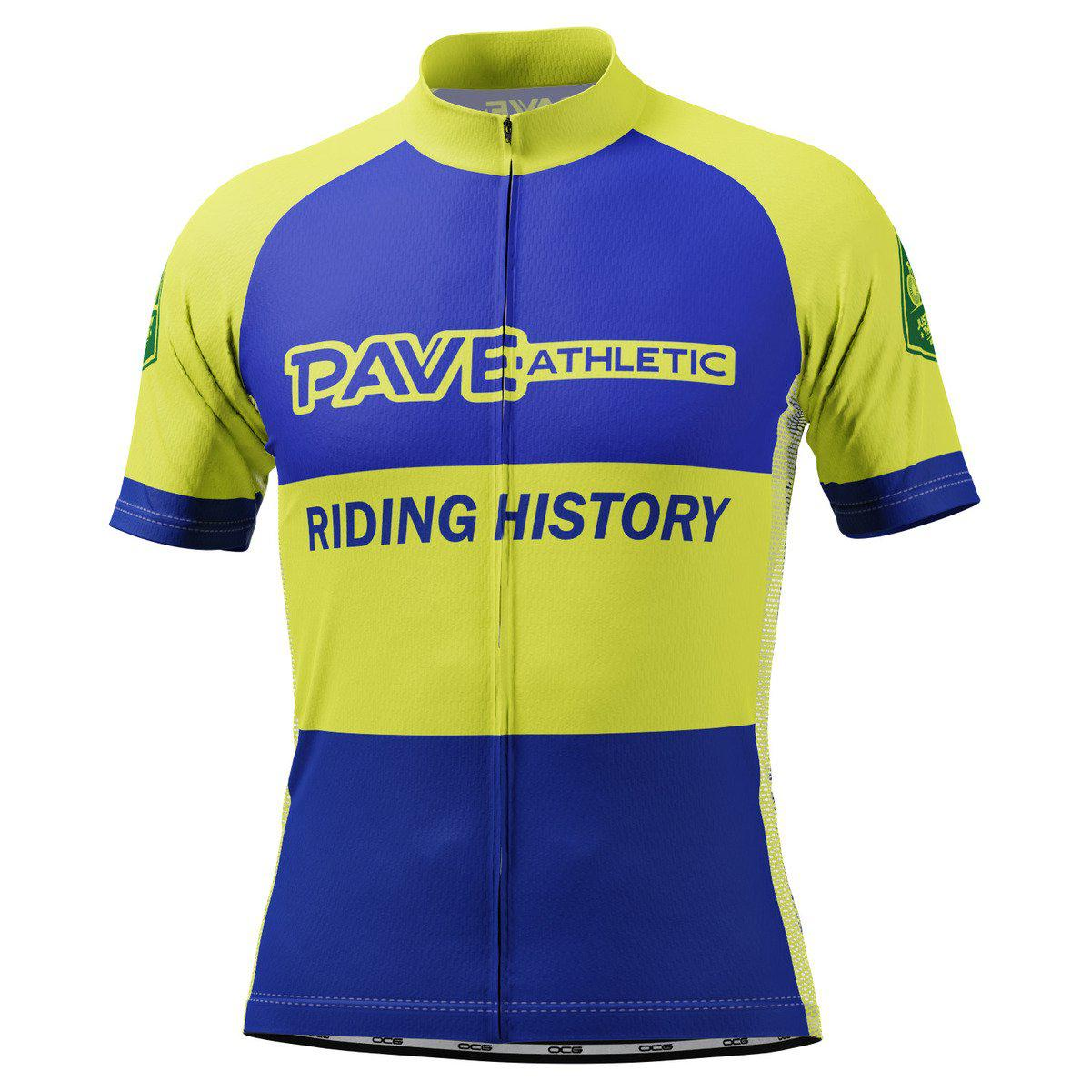 PAVE Athletic Rubber Road Short Sleeve Cycling Jersey