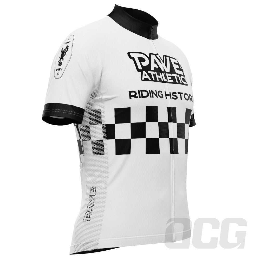 PAVE Athletic Retro Auto Short Sleeve Cycling Jersey