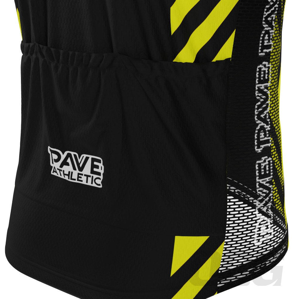 PAVE Athletic Retro Auto Black Short Sleeve Cycling Kit