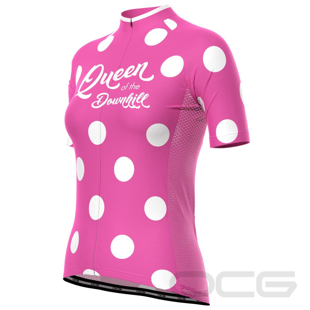 Women's Queen of the Downhill Short Sleeve Cycling Jersey