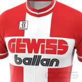 Men's Retro 1995 Gewiss Ballan Short Sleeve Cycling Jersey